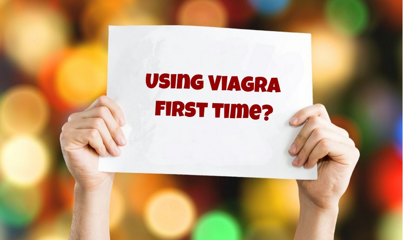 Using Viagra first time_